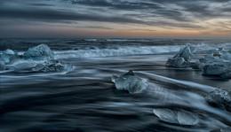 Волшебные льдинки II / Алмазный Пляж, Исландия