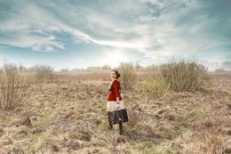 My field of spring... / Мария...