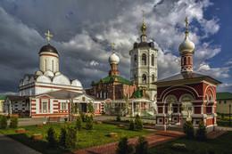 духов день / Подмосковье, Николо-Пешношский монастырь