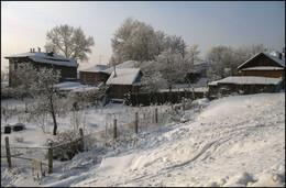 Городская окраина / Зима