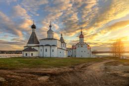 Ферапонтов монастырь.. / село Ферапонтово. Волгодская область