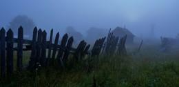 На рассвете ... / Туман ...