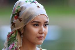 девушки Средней Азии(казашка) /