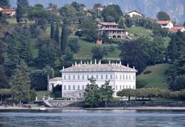 Белладжио / Вилла Мельци в Белладжио, Италия (озеро Комо)