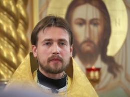 о. Сергей / На праздничной службе