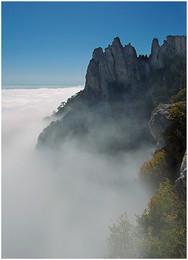 Без названия / облака, горы