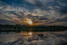 Припятские закаты / На Припяти в июне