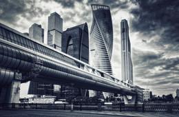 Тучи над Сити / Москва-Сити накануне грандиозного ливня
