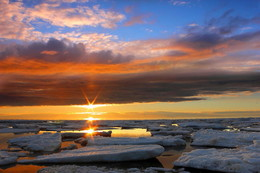 Солнечное трио / о.Ягры, Белое море, г. Северодвинск