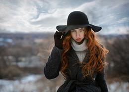 Дело в шляпе. / модель: Рената.