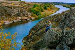 Река Каменка / Река Каменка в Днепропетровской обл. возле города Покров.