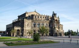 Оперный театр Земпера / Дрезден,Германия