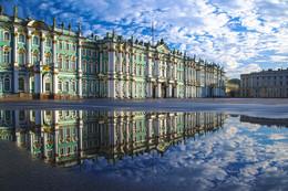Отражение / Август 2017. Утро. Санкт-Петербург