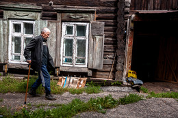 """Пора домой..."", Томск, август 2017г. / ..."