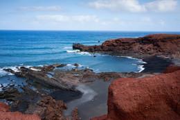 Черные пляжи Лансероте / Окрестности поселка Эль Гольфо