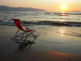 Конец сезона / Конец августа, Адриатика, Албания