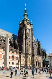 В Праге / Прага Собор святого Вита