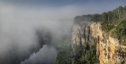 Айские притёсы.. / Урал, Челябинская область, Саткинский район, река Ай, август 2017 года