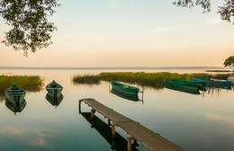 Утро на Плещеевом озере. / ***