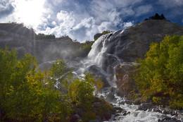 Алибекский водопад КЧР / Алибекский водопад КЧР