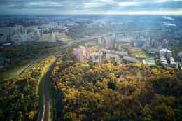 / Москва. Немного золотой осени без дождей и пасмурного неба.