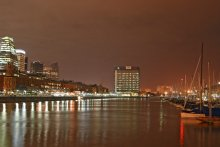 вечер в порту / вечерние съемки в Мар дель Плато, г.Буэнос-Айрес, Аргентина