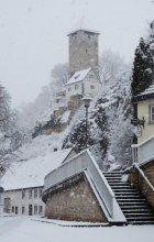 полдень зимой / Зима со снегом