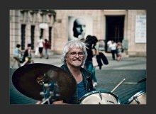 """БараБандист... / Из серии """"Уличные Музыканты...""""  drum + band = БараБандист ;)"""