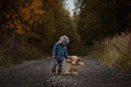 Больше, чем игрушка / Медведь оживает на сказочных фотографиях