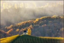 В свете заката. / Часовня Dreisiebner, находится в живопийснейшем местечке Gamlitz - Sernau Штирия,Австрия.