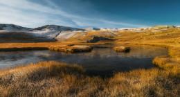 МОРОЗНЫМ УТРОМ / загедан пхия озера осень