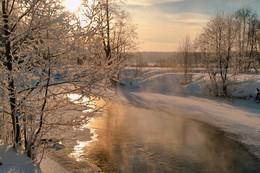 Морозный день / Река Нерехта
