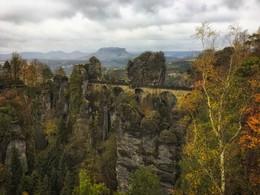 Саксонская Швейцария / Sächsische Schweiz — германская часть Эльбских Песчаниковых гор