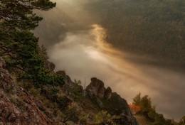 Солнечная река. / Торгашинский хребет. Долина реки Базаиха.