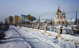 В моем городе зима... / снежная