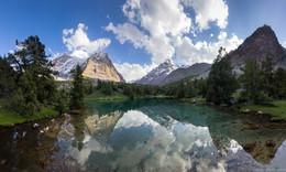 Алаудинские озера / Таджикистан