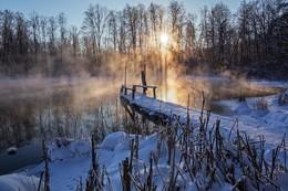 озеро Большое голубое / Татарстан,Щербаково
