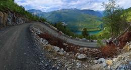 Серпантин в горах... / ...