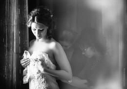 сборы невесты / фотосессия утра невесты