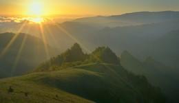 Рассвет в горах / Каньон Малки