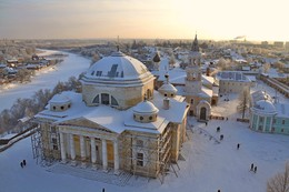 Пролетая над зимним Торжком.... / ***