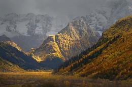 Клухор / Осенний вечер в горах