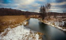 «река Посорь» / Природа в январе
