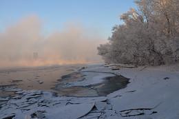 Кадр решает все / Зима, Сибирь, крещенские морозы, город-призрак