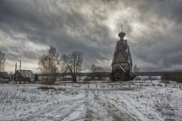 перед Рождеством... / январь 2018 г., Селигер, Ширков Погост, церковь Иоанна Предтечи