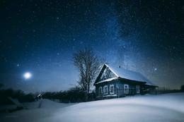 Ночи в деревне / д. Починок, Пеновский район, Тверская область