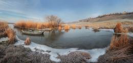 Морозное утро / Панорама