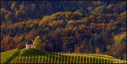 Осенние зарисовки. / Часовня Dreisiebner находится в очень живописном местечке Gamlitz - Sernau Штирия,Австрия.