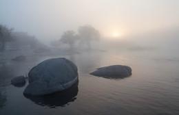 """Рождение нового дня. / Национальный природный парк """" Бугский Гард."""" Ураина."""