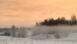 Под покрывалом тумана / Мартовские морозы.